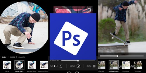 Приложение Adobe Photoshop Express доступно для Windows Phone